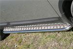 Пороги с листом Nissan Qashqai 2007 d 42 (компл 2шт) (Союз-96, NQSH.82.0455)