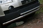 Защита переднего бампера Chevrolet Captiva 2006- d60(42) двойная (Союз-96, CCAP.48.0486)