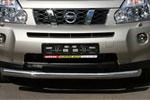 Защита переднего бампера Nissan X-Trail 2007- d 76 (труба) (Союз-96, NXTR.48.0498)