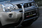 Решетка передняя Nissan X-Trail 2007- d 60 мини высокая (Союз-96, NXTR.55.0499)