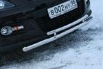 Защита переднего бампера Mazda CX-7 2007- d 60(42) двойная (Союз-96, MACX.48.0547)