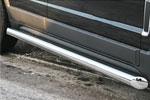 Пороги труба Opel Antara 2006- d 76 (компл 2шт) (Союз-96, OPAN.80.0585)
