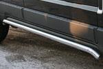 Пороги труба Opel Antara 2006- d 42 (компл 2шт) (Союз-96, OPAN.80.0587)
