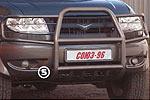 Дуга передняя УАЗ Патриот с защитой фар и нижней защитой (Союз-96, 5595)