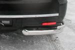 Защита задняя Cadillac Escalade 07- d76/60 двойные