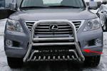 Дуга передняя мини d76(51) высокая Lexus LX570 (Союз-96, LX57.55.0620)