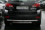 Защита задняя Subaru Tribeca d60/60 двойная (Союз-96, SUTR.75.0654)