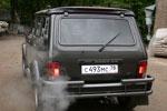 Спойлер на ВАЗ-2121 Нива (BK-Tun, NV3DJ)