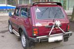 Спойлер на ВАЗ-2121 Нива (BK-Tun, NV3CHP)