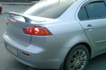 Спойлер со стопом «Дельфин» Mitsubishi Lancer X (AD-Tuning, LANX-SPD)