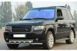 Защита переднего бампера (D60) для Land Rover Range Rover Vogue 2004+ (ST-LINE, ST.LRV04.ST015/d60)