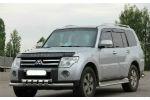 Защита переднего бампера (D60) для Mitsubishi Pajero Wagon 2006+ (ST-LINE, ST.MPV06.ST015/d60)