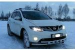 Защита переднего бампера (D60) для Nissan Murano 2008+ (ST-LINE, ST.NM08.ST015/d60)