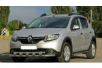 Защита переднего бампера (D60) для Renault Sandero Stepway 2013+ (ST-LINE, ST.RSS13.ST015/d60)
