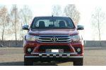 Защита переднего бампера (D60) для Toyota Hilux 2015+ (ST-LINE, ST.TH15.ST015/d60)