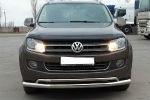 Защита переднего бампера (D60) для Volkswagen Amarok 2010+ (ST-LINE, ST.VWA10.ST017/d60)