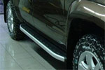 Боковые пороги Alyans для Volkswagen Amarok 2010- (Can-Otomotive, VWAM.ALYANS.47.1020)