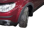 Расширители колесных арок с интегрированными боковыми порогами Subaru FORESTER с 2009 (EGR FFS237070)
