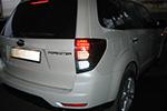 Задняя светодиодная оптика Subaru Forester 2008- (JUNYAN, WH.SUB.FOR.TL.RED)