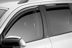 Ветровики (дефлекторы окон) для Subaru Legacy/Outback 2009- (Climair, CLI0033672/CLI0044282)
