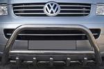 Передняя защита бампера с трубой и защитой картера для Volkswagen T5 2004- (Can-Otomotive, VWT50110)