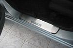 Накладки на внутренние пороги (нерж.) для Daihatsu Terios 2006- (Nata-Niko, P-DH03)