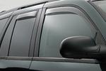 Ветровики (дефлекторы окон) для Toyota LC Prado 120 (Climair, CLI0033238/CLI0042862)