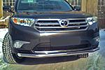 Защита переднего бампера «Cityguard» Toyota Highlander 07- (UAtuning, TOY.HLR.C101)