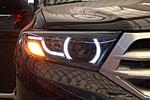 Передняя светодиодная оптика для Toyota Highlander 2010- (JUNYAN, TOY.HLR.HL.01)