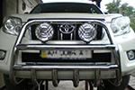 Дуга передняя Toyota Prado FJ150 2010- (UAtuning, TOY.150.B10.10)