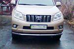 Защита переднего бампера «Cityguard» Toyota Prado FJ150 2010- (UAtuning, TOY.150.C101)