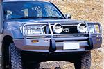 Передний бампер Toyota LC 100 Series с дугой Deluxe COMBO BAR IFS (NOT LEXUS) под лебёдку (ARB, 3413050)