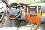 Накладки салона Toyota 4 Runner 2003-2005 16 Pcs (Wowtrim, TA4R03B)