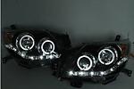 Передняя оптика для Toyota Prado FJ150 2007-2012 (JUNYAN, TOYPR07-12.HID.MD1)