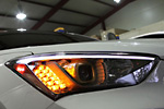 Светодиодный модуль  «поворотников» в переднюю оптику для Hyundai Santa Fe 2013- (KAI, HYUNSF13.TSTF-02)