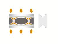 Автобаферы - амортизирующие подушки (4 шт.) для Acura MDX 2007+ (TTC, AC)