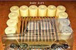 Комплекты проставок боди-лифт H40 УАЗ 3151 (ТоргСервис, h40bl-UAZ 3151)