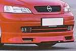Юбка переднего бампера Opel Astra G (AD-Tuning, OAG-FS01S)