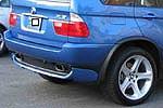 Юбка заднего бампера BMW X5 E53 (AD-Tuning, BMWE53-RS.2025)