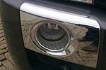 Хром накладки на противотуманные фары для Hyundai Tucson 2004- (Kindle, HM-HT-F41)