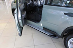 Боковые пороги Saphire V1 для Nissan X-Trail 2008- (Can-Otomotive, NIXT.SAPHV1.47.2161)