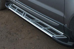 Боковые пороги Saphire V2 для Hyundai Santa Fe 2010- (Can-Otomotive, HYSA.SAPHV2.47.1191)