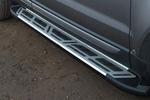 Боковые пороги Saphire V2 для Land Rover Freelander 2008- (Can-Otomotive, LRFL.SAPHV2.47.1521)