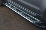 Боковые пороги Saphire V2 для Ford Kuga 2008- (Can-Otomotive, FOKU.SAPHV2.47.0970)