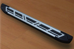 Боковые пороги Saphire V2 для Nissan Qashqai 2007- (Can-Otomotive, NIQA.SAPHV2.47.2077)