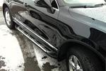 Боковые пороги Saphire V2 для Volkswagen Touareg 2010- (Can-Otomotive, VWTU.SAPHV2.47.4518)