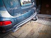 Фаркоп для Hyundai SantaFe 2006-2012 (VASTOL, HU-3)