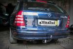 Фаркоп для Mercedes-Benz C-class (W203) SD/Universal 2000-2007 (VASTOL, MC-8)