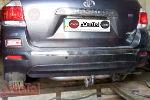 Фаркоп для Toyota HighLander 2010-2014 (VASTOL, TY-10)