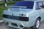 """Задний пластиковый бампер """"F1"""" ВАЗ-21099 (BK-Tun, VAZ-99F1)"""